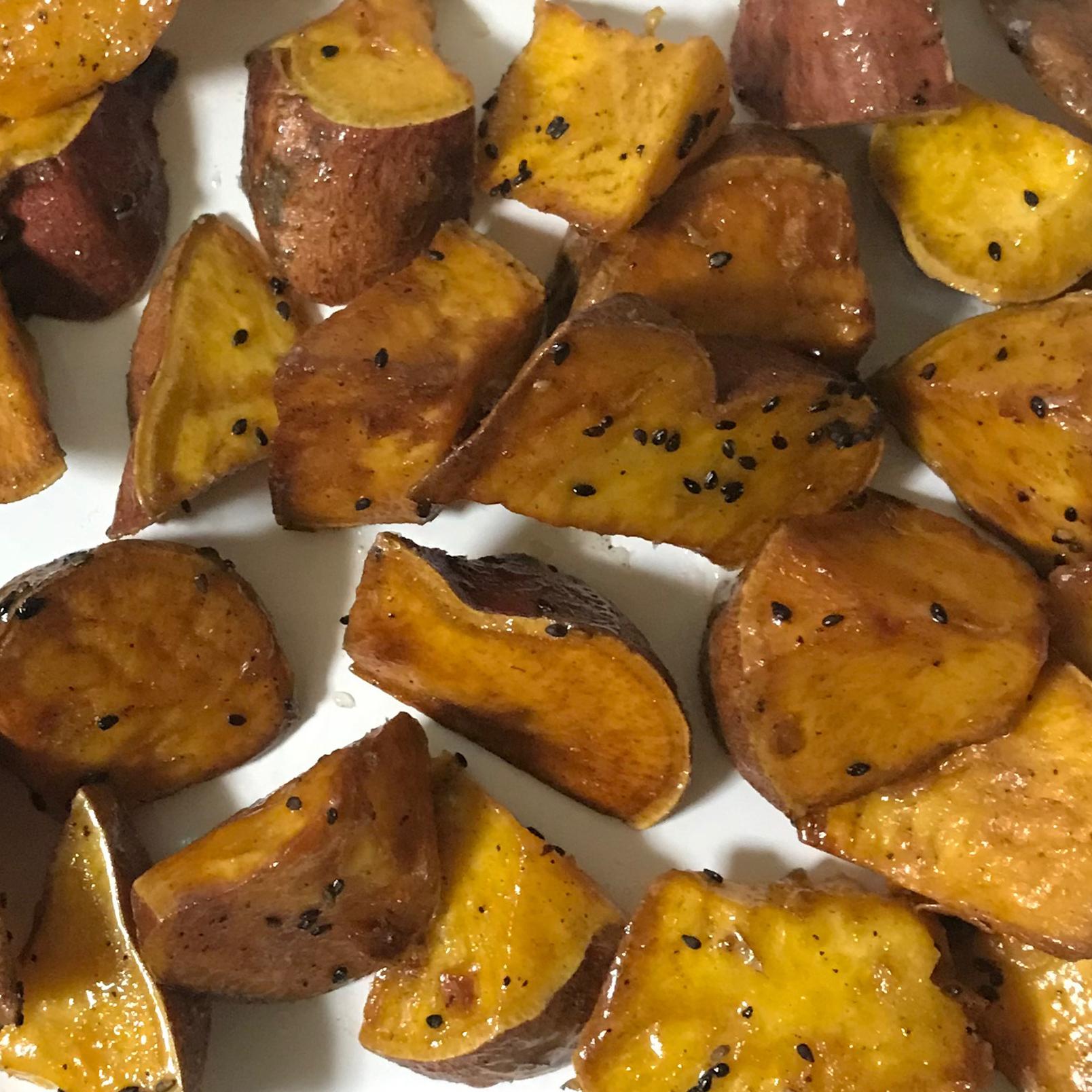 意外と簡単に作れる、ほくほく大学芋