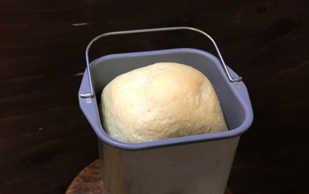 糖分の少ないハードトーストでもしっかり膨らみます