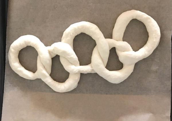 平昌オリンピック記念!オリンピック5輪パンを焼いて見た結果1