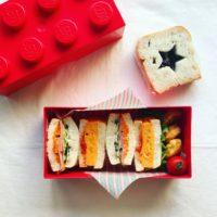 ミニ食パンでサンドイッチ弁当 中学生女子のおべんとう