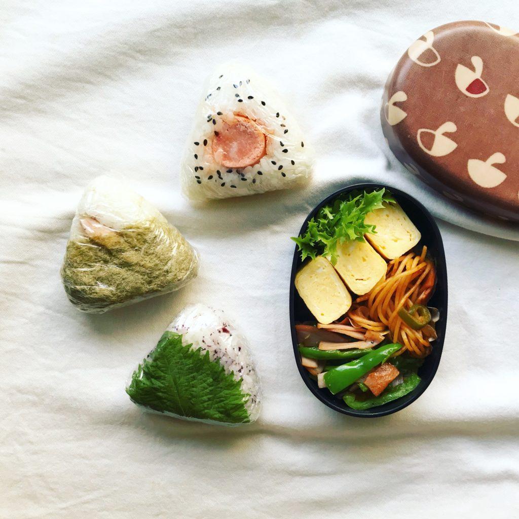 3種類のおにぎり弁当
