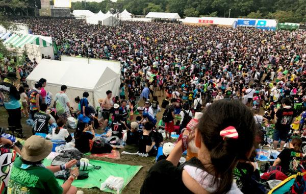 子連れで楽しむ夏フェス「京都大作戦」の服装・持ち物・注意点